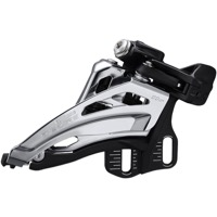 Shimano FD-M5100-E Deore E2 Double Frnt Derailleur - 2 x 11 Speed Side Swing