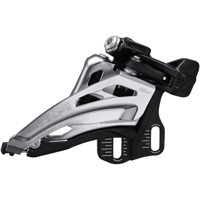 Shimano FD-M4100-E Deore E2 Double Frnt Derailleur - 2 x 10 Speed Side Swing