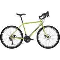 "Surly Disc Trucker 26"" Complete Bike - Pea Lime Soup - 9 Speed"