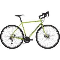 Surly Disc Trucker 700c Complete Bike - Pea Lime Soup - 9 Speed