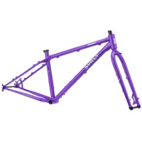 Surly Wednesday Frameset - All-Natural Grape