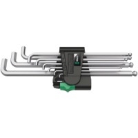 Wera 950/9 Hex-Plus L-Key Metric Hex Wrench Set - Short Arm