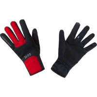 Gore M WINDSTOPPER Thermo Gloves - Black/Red