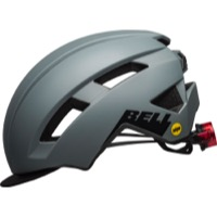 Bell Daily LED MIPS Helmet 2021 - Matte Gray/Black