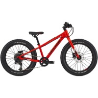 "Cannondale Kids Cujo Race 20""+ Complete Bike 2021 - Acid Red"