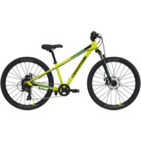 "Cannondale Kids Trail 24"" Complete Bike 2021 - Neon Yellow"