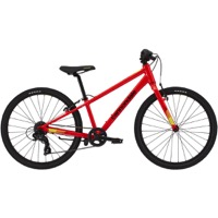 "Cannondale Kids Quick 24"" Complete Bike 2021 - Acid Red"