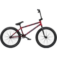 "We The People Audio 22"" BMX Complete Bike - Matt Aqua Red"