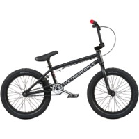 "We The People CRS 18"" BMX Complete Bike - Matt Black"