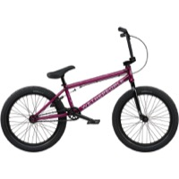 "We The People CRS FC 20"" BMX Complete Bike - Translucent Berry Blast"