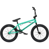"We The People CRS FS 18"" BMX Complete Bike - Metallic Soda Green"