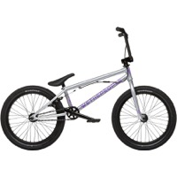"We The People Versus 20"" BMX Complete Bike - Silver"