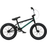 "We The People Seed 16"" BMX Complete Bike - Matt Black"
