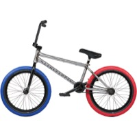 "We The People Battleship LSD 20"" BMX Complete Bike - Glossy Raw"