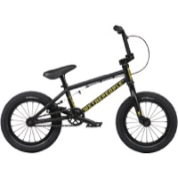"We The People Riot 14"" BMX Complete Bike - Matt Black"