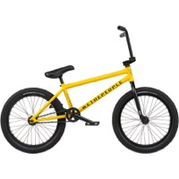 "We The People Justice 20"" BMX Complete Bike - Matt Taxi Yellow"