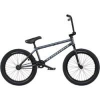"We The People Justice 20"" BMX Complete Bike - Matt Ghost Grey"