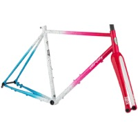All-City Nature Cross Geared Frameset - Cyclone Popsicle