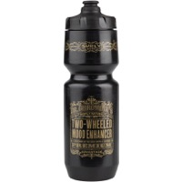 Surly Dr. Chromoly's Elixir Purist Water Bottle - Black/Gold
