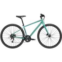 Cannondale Quick 3 Disc Womens Complete Bike 2021 - Turquoise