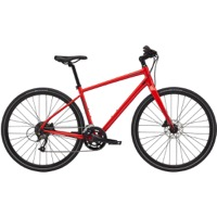 Cannondale Quick 3 Disc Complete Bike 2021 - Rally Red