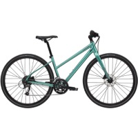 Cannondale Quick 3 Disc Remixte Complete Bike 2021 - Turquoise
