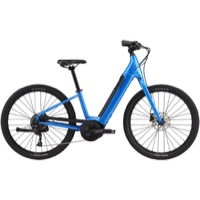 Cannondale Adventure Neo 4 Complete E-bike 2021 - Electric Blue