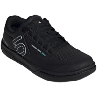 Five Ten Freerider Pro Flat Pedal Women's Shoes - Core Black/Crystal White/Acid Mint