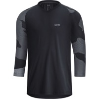 Gore C5 Trail 3/4 Cycling Men's Jersey 2021 - Black/Dark Graphite Grey