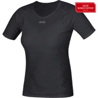 Gore M WINDSTOPPER Women's Base Layer Shirt 2021 - Black