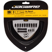 Jagwire Sport 2x Universal Shift Cable/Housing Set