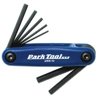 Park Tool AWS-10 Fold-Up Metric Hex Wrench Set