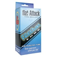Flat Attack Freedom Sealant Presta Tubes - 26""