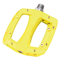 Gusset Slim Jim Sealed Bearing Pedals - Yellow