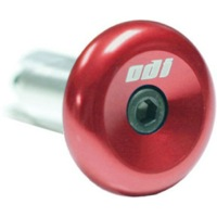 ODI Aluminum End Plugs - Red