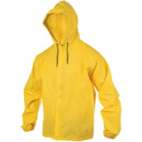 O2 Rainwear Hooded Rain Jacket