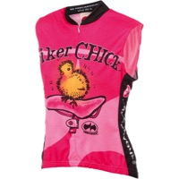 World Jerseys Biker Chick Sleeveless Jersey - Pink