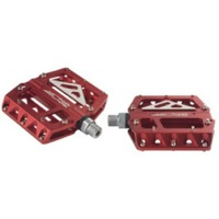 Azonic 420 platform pedals - Red