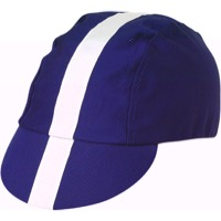 Pace Classic Cycling Cap - Royal Blue w/White Stripe