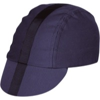 Pace Classic Cycling Cap - Charcoal w/Black Stripe