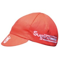 Sugino Cycling Caps - Red/White