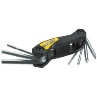 Pedro's Folding Hex Wrench & Screwdriver Set