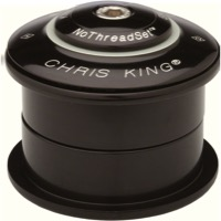 NEW CHRIS KING INSET 1 Threadless Headset 1 1//8 44mm ZS GripLock Apple
