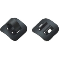 Jagwire Alloy Stick-On Guides w/ Clips