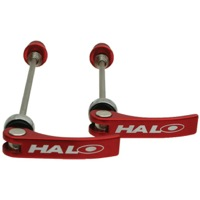 Halo Porkies QR Wheel Skewers - Red