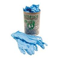 Motion Pro Blue Nitrile Work Gloves
