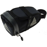 Axiom Rider Deluxe Seat Bags - Black/Gray
