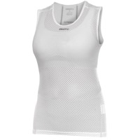 Craft Womens ProCool Super Light Sleeveless Top - White
