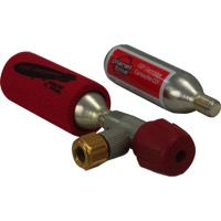 Planet Bike Red Zeppelin Inflator With Cartridge