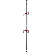 Gear Up Platinum Steel Floor To Ceiling Rack